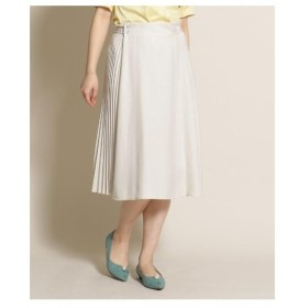 Bon mercerie(ボン メルスリー)アシメプリーツスカート