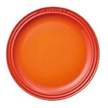 RLK0902 ル・クルーゼ ラウンド・プレート・LC 910140-19 オレンジ :_