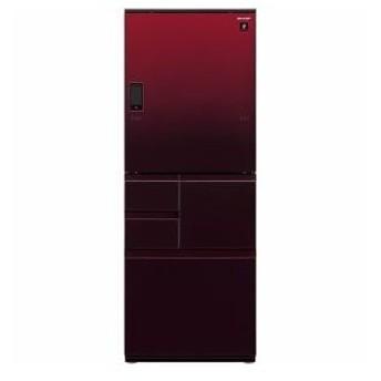 シャープ 5ドア冷蔵庫 (502L・どっちもドア) グラデーションレッド SJ-WA50E-R(配送設置無料/時間指定不可)【納期目安:約2〜3週間】