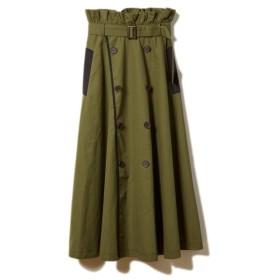 DRWCYS(ドロシーズ)異素材切替トレンチスカート