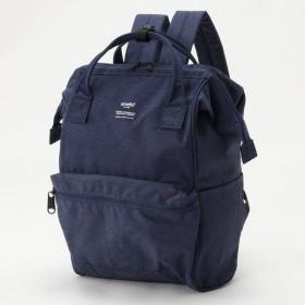 バッグ カバン 鞄 レディース リュック トラベル対応がま口リュックサック カラー 「ネイビー」