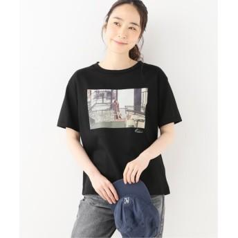 Spick and Span 【+81BRANCA】フォトTシャツ (S/S) ブラック フリー