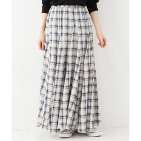 【スピック&スパン/Spick & Span】 【CP SHADES】 コールチェックロングスカート