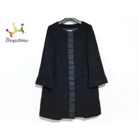 アナトリエ anatelier コート サイズ38 M レディース 美品 黒 冬物 新着 20190817