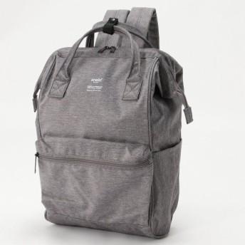 バッグ カバン 鞄 レディース リュック トラベル対応がま口リュックサック カラー 「グレー」