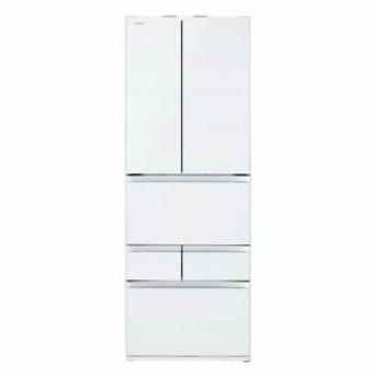 東芝 ベジータ 6ドア冷蔵庫(508L・フレンチドア) クリアグレインホワイト GR-R510FZ-UW(配送設置無料/時間指定不可)【納期目安:約12〜13週間】