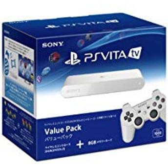 【送料無料】【中古】PlayStation Vita TV Value Pack (VTE-1000AA01) 本体 プレイステーション ヴィータ(箱説付き)
