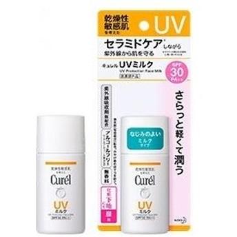 キュレル UVミルクSPF30PA+++30ml(顔用) 【医薬部外品】