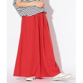 SHARE PARK LADIES(シェアパークレディース)/ピーチ ボリュームロングスカート