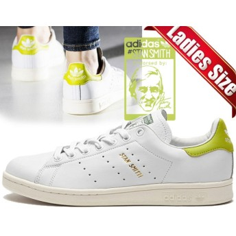 【アディダス スタンスミス レディース】adidas STAN SMITH ホワイト/イエロー ftwbla/ftwbla/jausol STAN SMITH