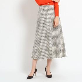 DRESSTERIOR(Ladies)(ドレステリア:レディース)/スラブチェックAラインフレアスカート