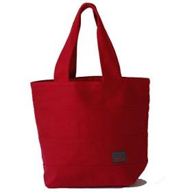 【sasicco】【日本製】 柔道着の生地を使用した三河木綿バッグ トート 40 (赤)