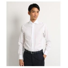 DRESSTERIOR(Men)(ドレステリア(メンズ))【洗える】THOMAS MASON ポプリンドレスシャツ