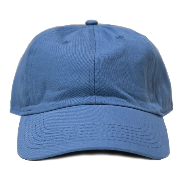 (ニューハッタン) NEWHATTAN カジュアルキャップ 帽子 男女兼用 ローキャップ (SKY BLUE) [並行輸入品]