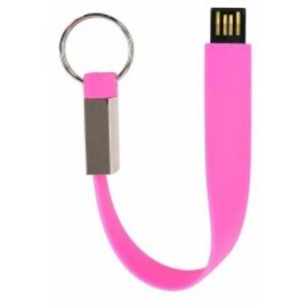 グリーンハウス USBメモリー ストラップ形 8GB ピンク GH-UFDST8G-PK