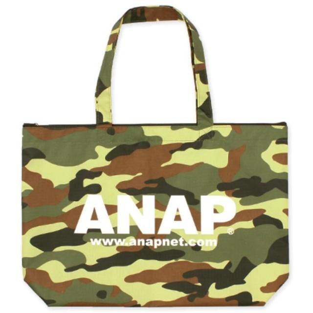 ANAP アナップ ロゴ4パターントートバッグ
