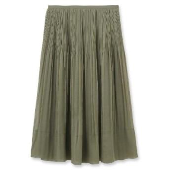 DRESSTERIOR(Ladies)(ドレステリア(レディース))オーガンジープリーツスカート