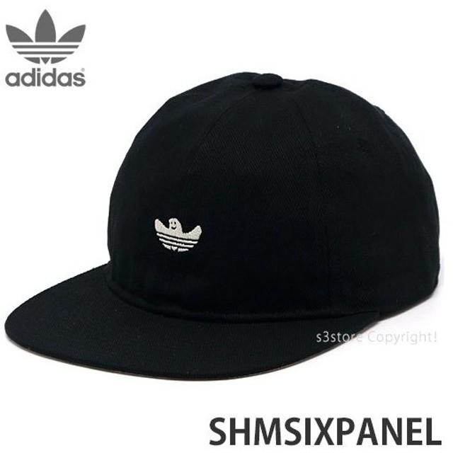 アディダス シュムー adidas SHMSIXPANEL スケートボード スケボー キャップ 帽子 野球帽 ストリート カラー:BLK/CWHT/WHT サイズ:OSFX