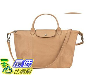 [COSCO代購]  W1279478 Longchamp 中手把皮革手提包 Longchamp Middle Handle Handbag