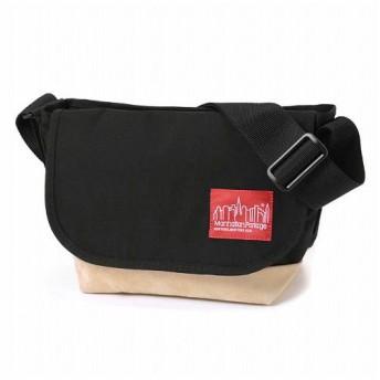 マンハッタン ポーテージ Suede Fabric Casual Messenger Bag JR ユニセックス Black S 【Manhattan Portage】
