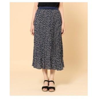 SHOO・LA・RUE(Ladies)(シューラルー(レディース))【M-LL】柄アソートプリーツスカート