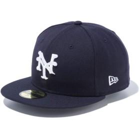 【メーカー取次】 NEW ERA ニューエラ 59FIFTY Negro Leagues ニグロリーグ ニューヨーク・キューバンズ 11781685 キャップ(ネイビー 表記7 5/8)