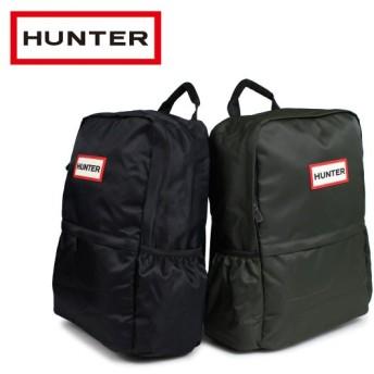 HUNTER ハンター リュック バックパック レディース メンズ ORIGINAL NYLON BACKPACK ブラック 黒 ダークオリーブ UBB6028KBM