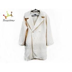 ドゥクラッセ DoCLASSE コート サイズ7 S レディース 美品 白 冬物 新着 20190817