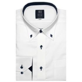 [マルイ] 形態安定 ノーアイロン 長袖ワイシャツ ドゥエボットーニ ボタンダウン 標準体/ブリックハウス(BRICKHOUSE)