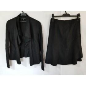 アンタイトル UNTITLED スカートスーツ サイズ3 L レディース 黒【中古】20190803