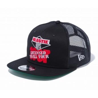 ニューエラ NEW ERA 9FIFTY Original Fit トラッカー BEASTIE BOYS ビースティーボーイズ ロゴ ブラック 56.8 - 60.6cm キャップ 帽子 日本正規品
