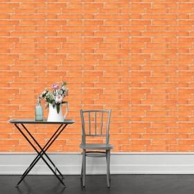 ウォールステッカー ウォールシール 壁紙 壁面装飾 レンガ風 カフェ風 おしゃれ 模様替え DIY