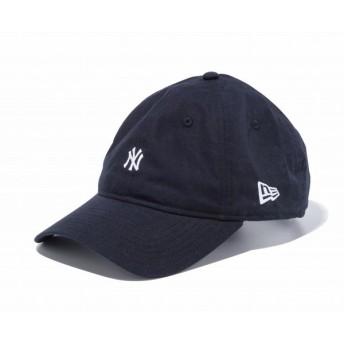 ニューエラ NEW ERA 9THIRTY クロスストラップ タイプライター ニューヨーク・ヤンキース ピュアブラック × ホワイト キャップ 帽子 日本正規品