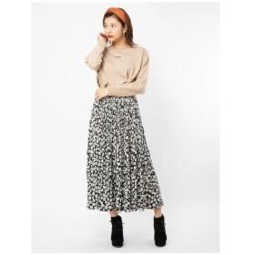 CECIL McBEE(セシルマクビー)小花柄消しプリーツスカート