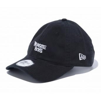 ニューエラ NEW ERA 9THIRTY クロスストラップ BEASTIE BOYS ビースティーボーイズ ロゴ ブラック 56.8 - 60.6cm キャップ 帽子 日本正規品