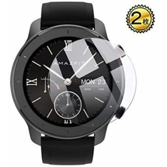 Amazfit GTR 42mm ガラスフィルム 強化ガラス 腕時計フィルム スクリーン保護フィルム Dodotop 日本旭硝子素材 2.5D シール