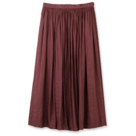 anatelier(アナトリエ)割繊デシンランダムプリーツスカート
