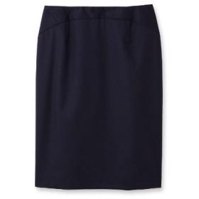 UNTITLED(アンタイトル)ティエラウールステッチタイトスカート