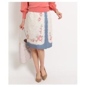 SunaUna(スーナウーナ)【洗える】アデリーナフラワースカート