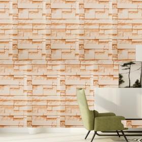 ウォールステッカー ウォールシール 壁紙 壁面装飾 レンガ カフェ風 ヴィンテージ おしゃれ 模様替え DIY