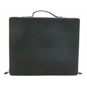 GIVENCHY ジバンシイ ジバンシー PARFUMS メイクボックス コスメボックス バニティバッグ ハンドバッグ マルチケース ブラック 黒 (中古)(s)