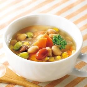 【夕ごはん・お弁当ストック】 お豆と野菜のごろっとおかずスープ 10袋