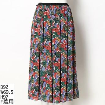 [マルイ]【セール】【大きいサイズ】リバティプリントスカート/アルディラ(AL・DI・LA)