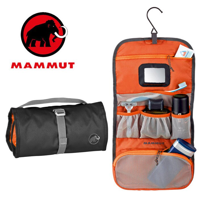 【Mammut 長毛象 瑞士】Washbag Travel 盥洗包-L 旅行盥洗包 (00590-0001)