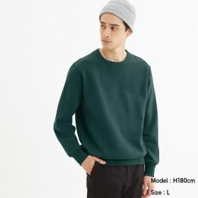(GU)スウェットシャツ(長袖) DARK GREEN S
