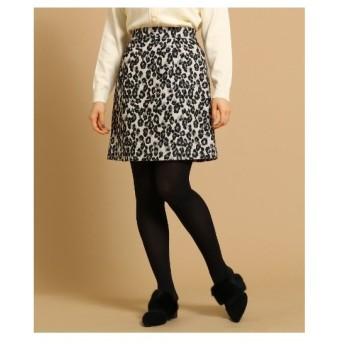 Bon mercerie(ボン メルスリー)【WEB・一部店舗限定】レオパードスカート