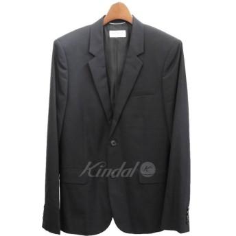 【10月10日値下】SAINT LAURENT PARIS 2014AW 2Bテーラードジャケット ブラック サイズ:48 (四ツ橋店)