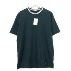 未使用 COOTIE クーティー 17SS 半袖Tee Tシャツ 緑 M  【中古】20007692