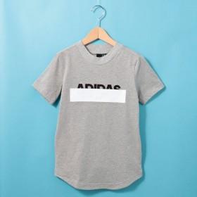 HusHusH(Kids)(ハッシュアッシュ:キッズ)/【110-160cm】adidas ラインロゴTシャツ(一部店舗・WEB限定)