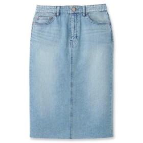 JET(ジェット)【洗える】10.5ozカットオフデニム タイトスカート